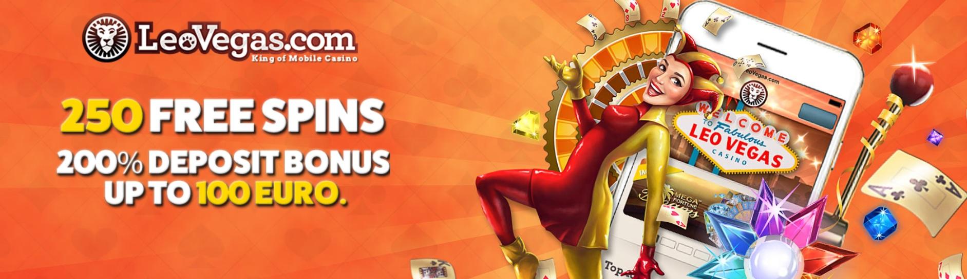 leovegas deposit bonus free spins