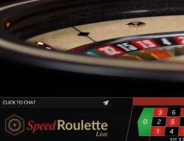 Speed Live Roulette